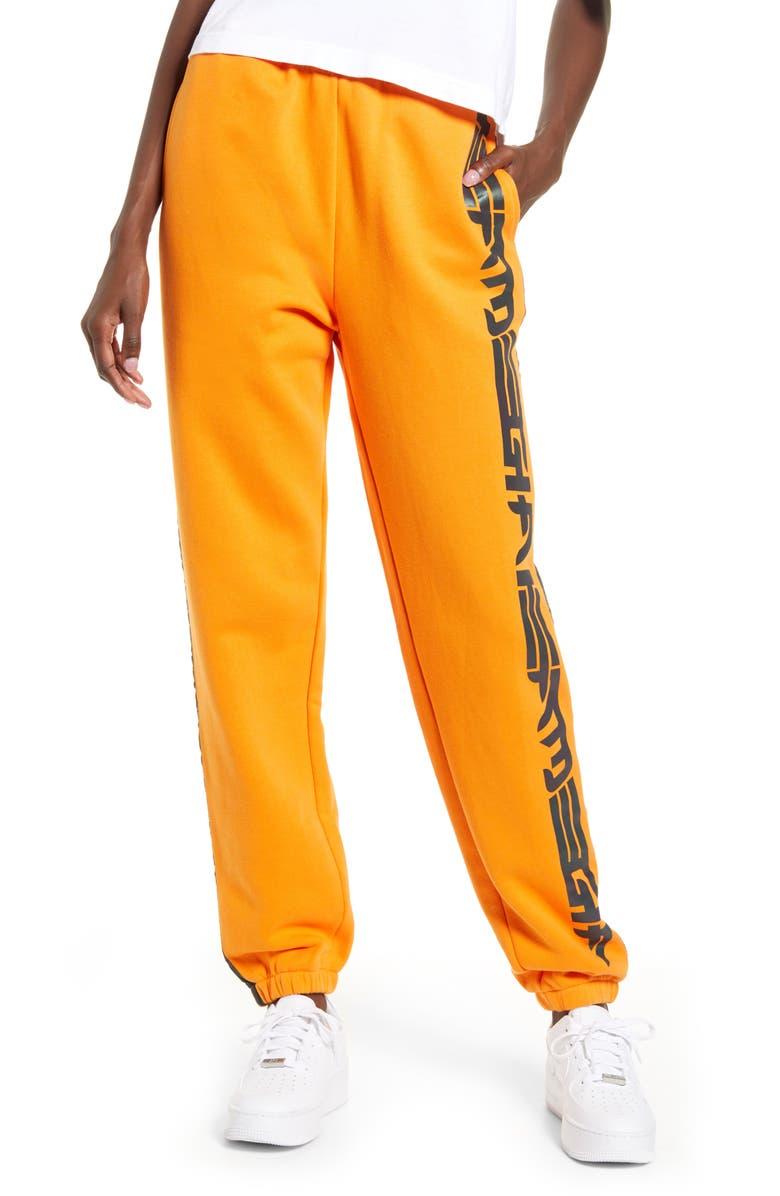 I.AM.GIA Zandra Track Pants, Main, color, ORANGE