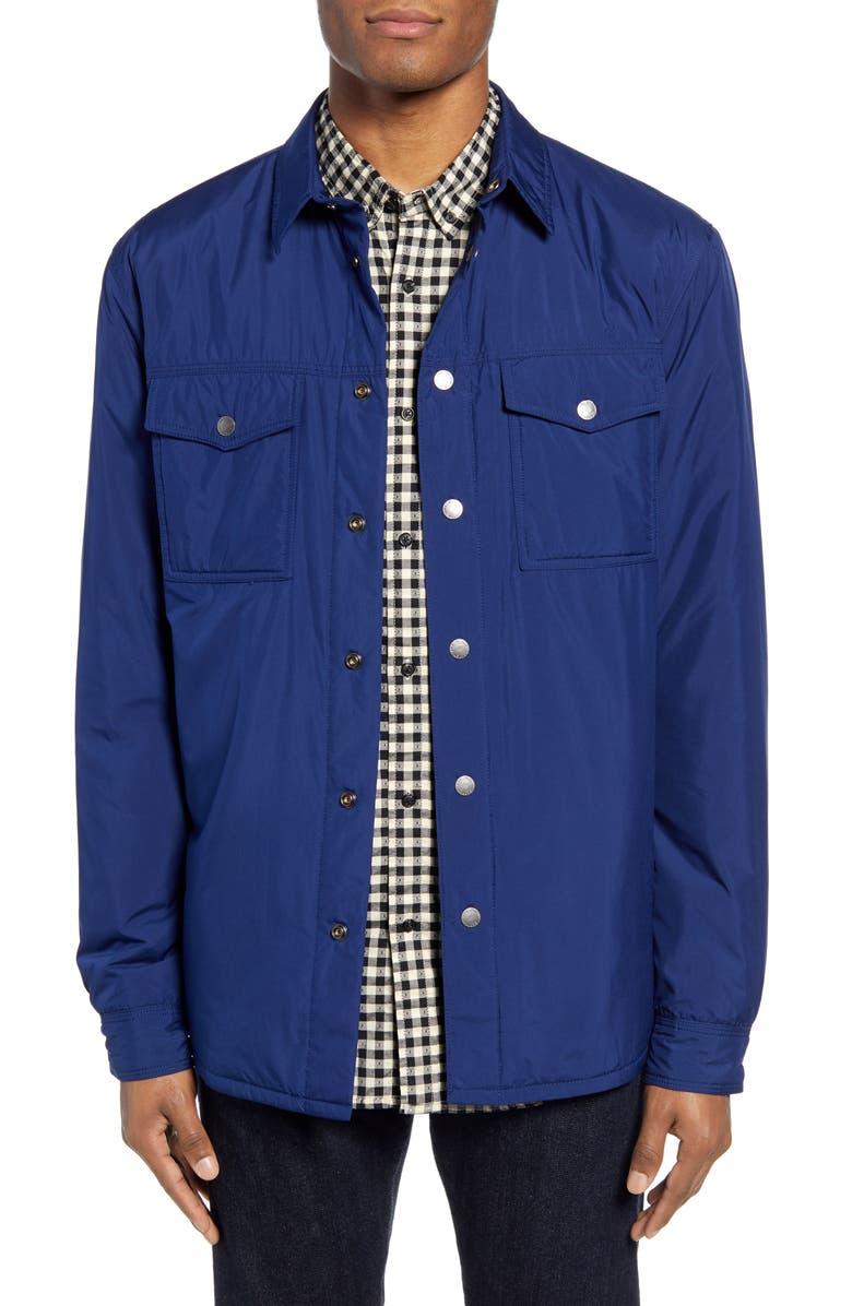 SCOTCH & SODA Classic Fit Shirt Jacket, Main, color, SACRE BLUE