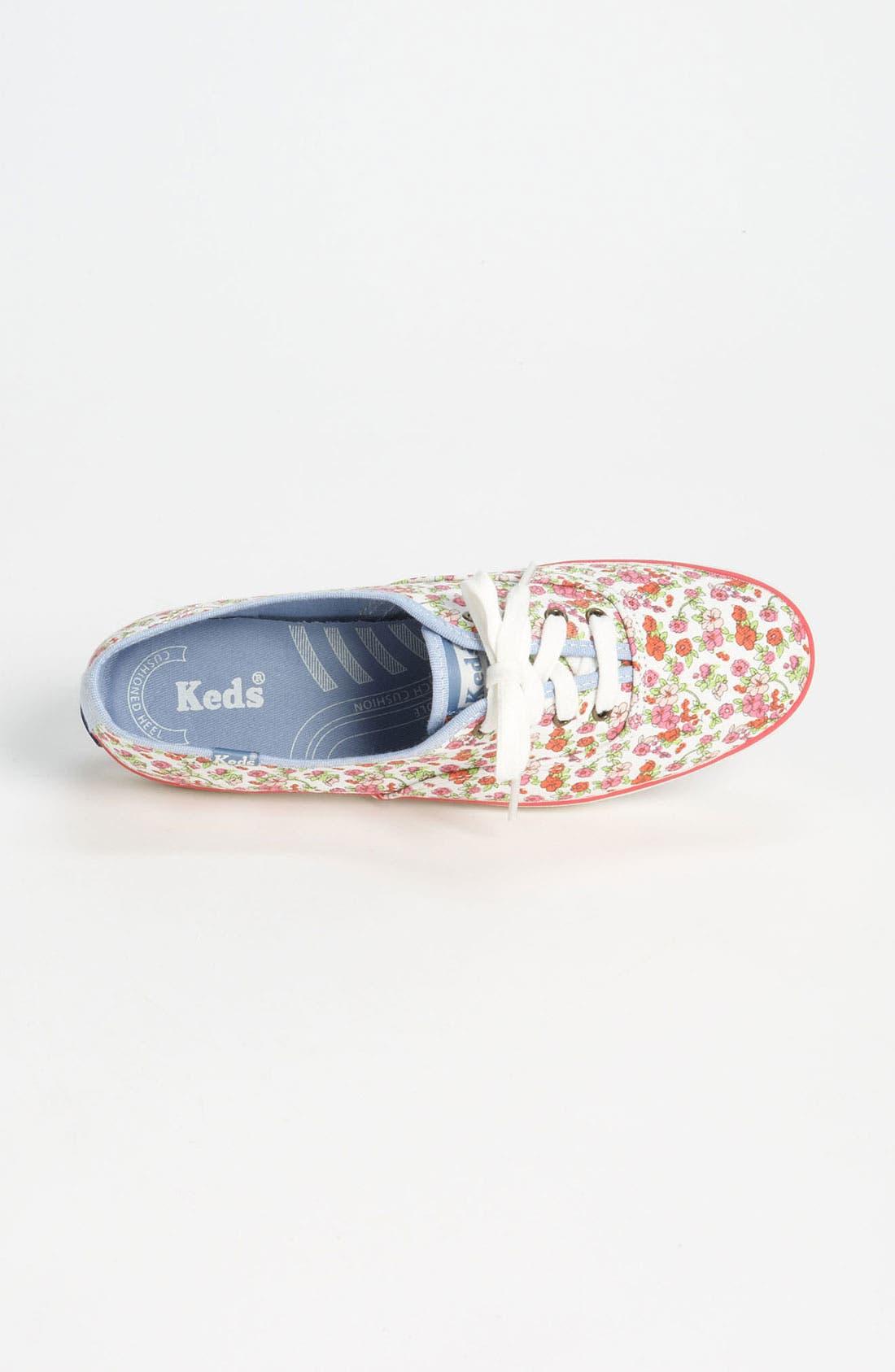 ,                             'Champion - Floral' Sneaker,                             Alternate thumbnail 2, color,                             100