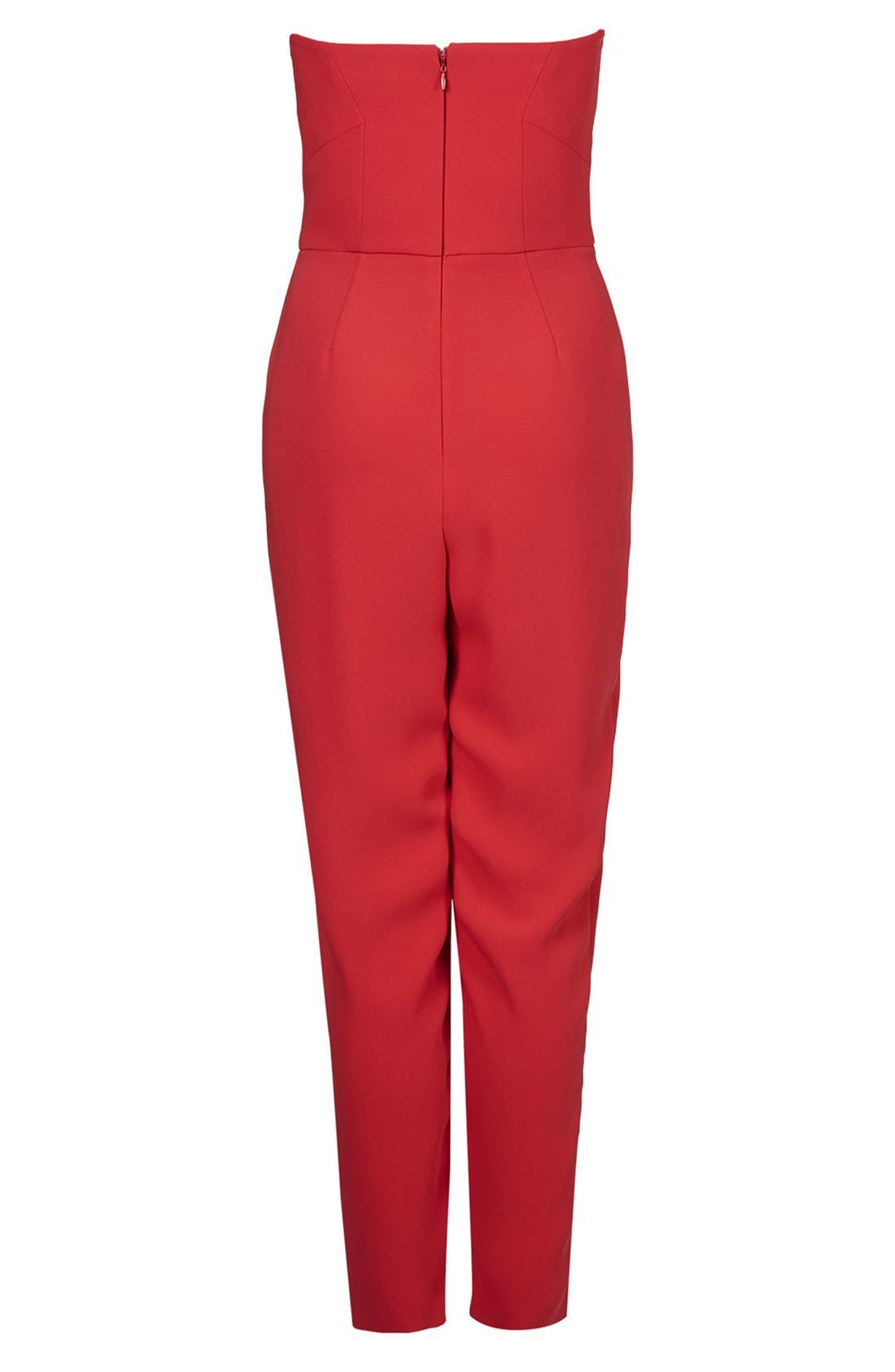 ,                             Plunge Bandeau Jumpsuit,                             Alternate thumbnail 6, color,                             600