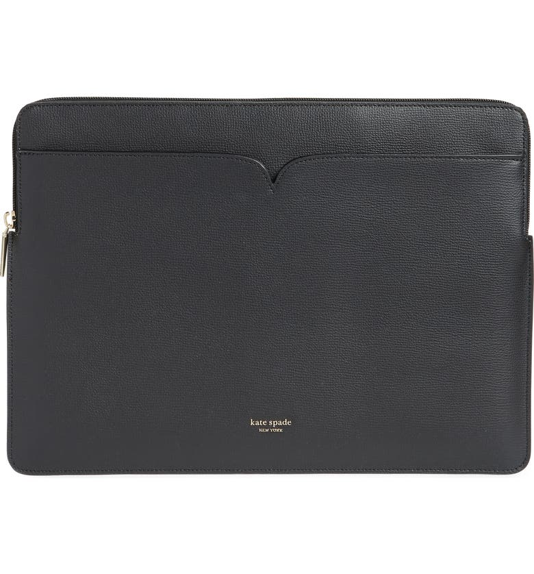 KATE SPADE NEW YORK sylvia universal slim laptop sleeve, Main, color, 001
