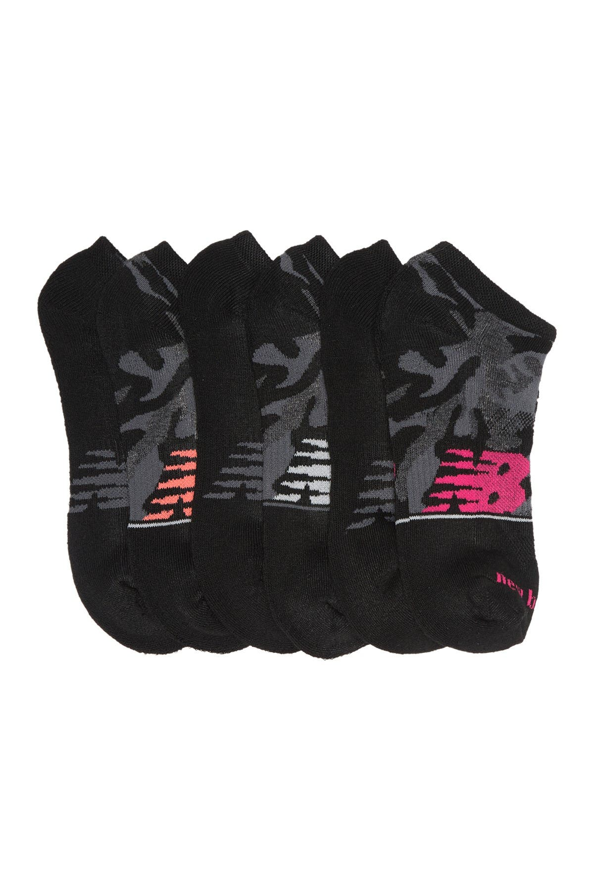 Image of New Balance Athletic Performance Low Cut Socks - Pack of 6