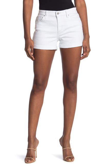 Image of Joe's Jeans Mid Rise Cuff Hem Shorts