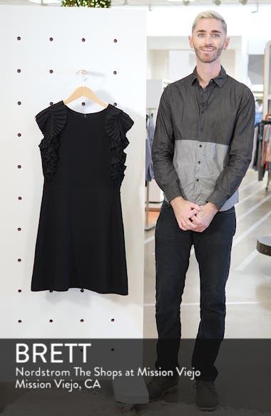 Pleat Shoulder Sheath Dress, sales video thumbnail