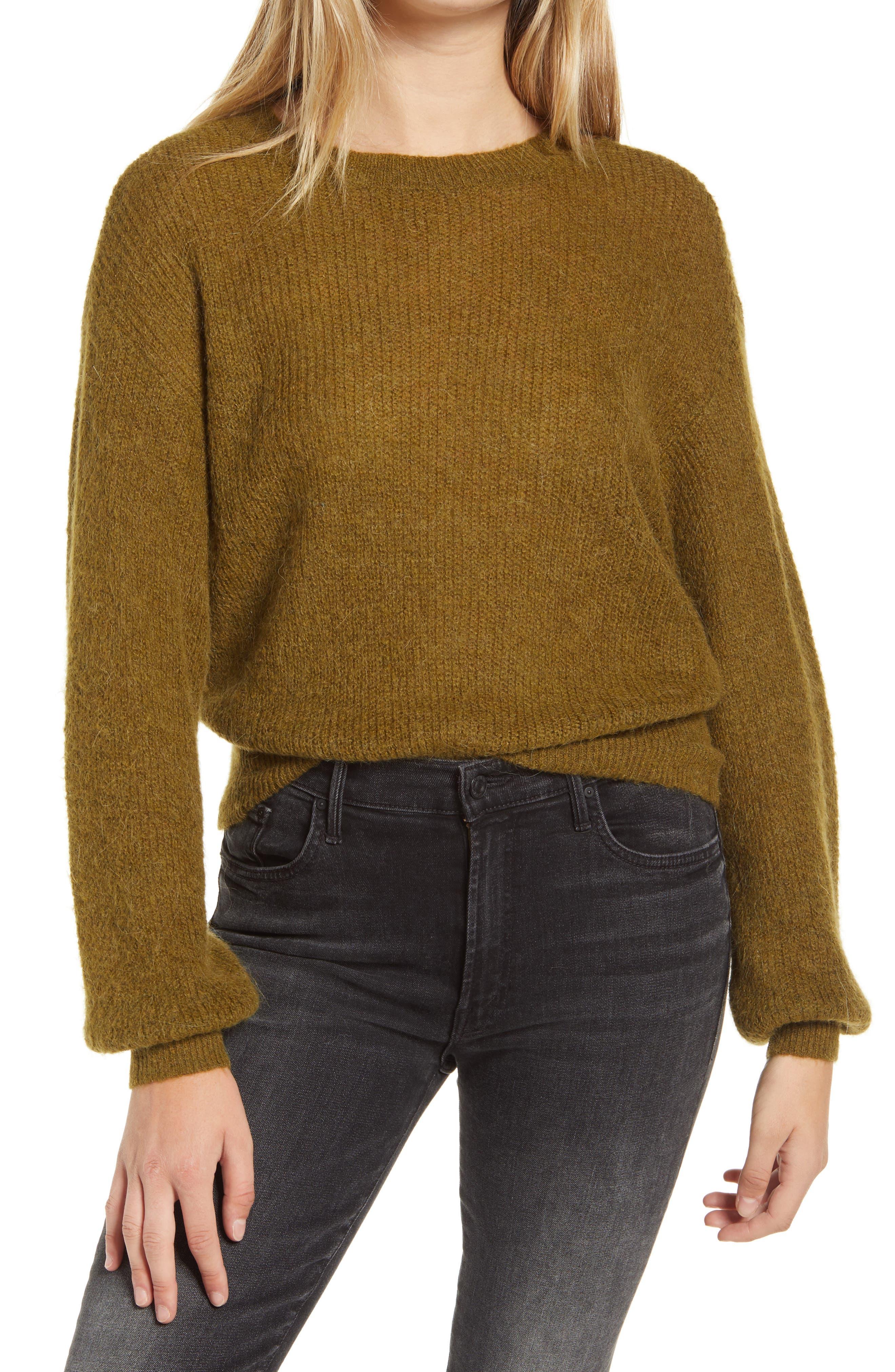 VERO MODA Vilma Crewneck Sweater | Nordstrom