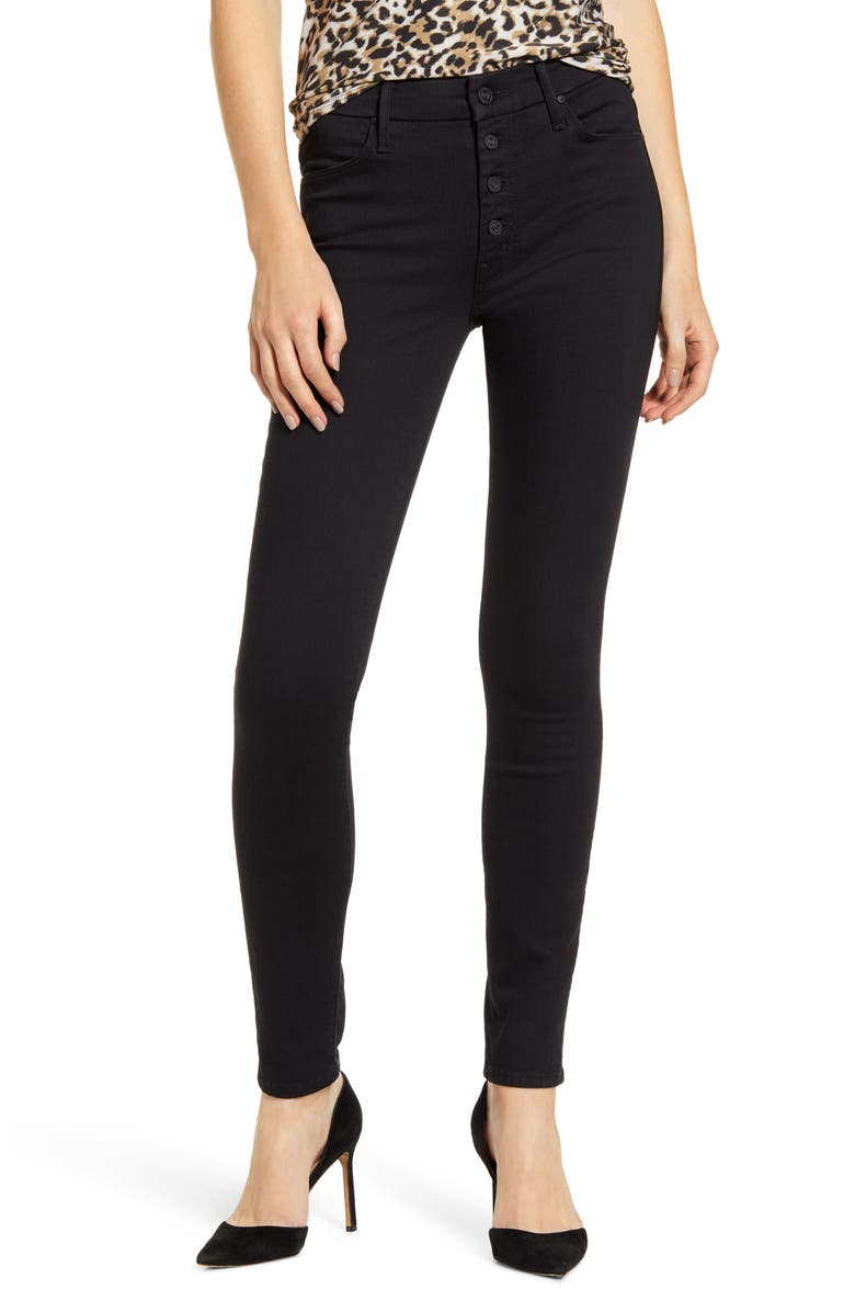MOTHER The Pixie Ankle Skinny Jeans, Main, color, NOT GUILTY