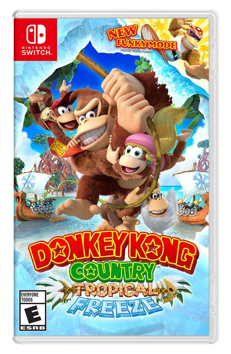 NINTENDO Switch Donkey Kong Country Tropical Freeze, Main, color, 440