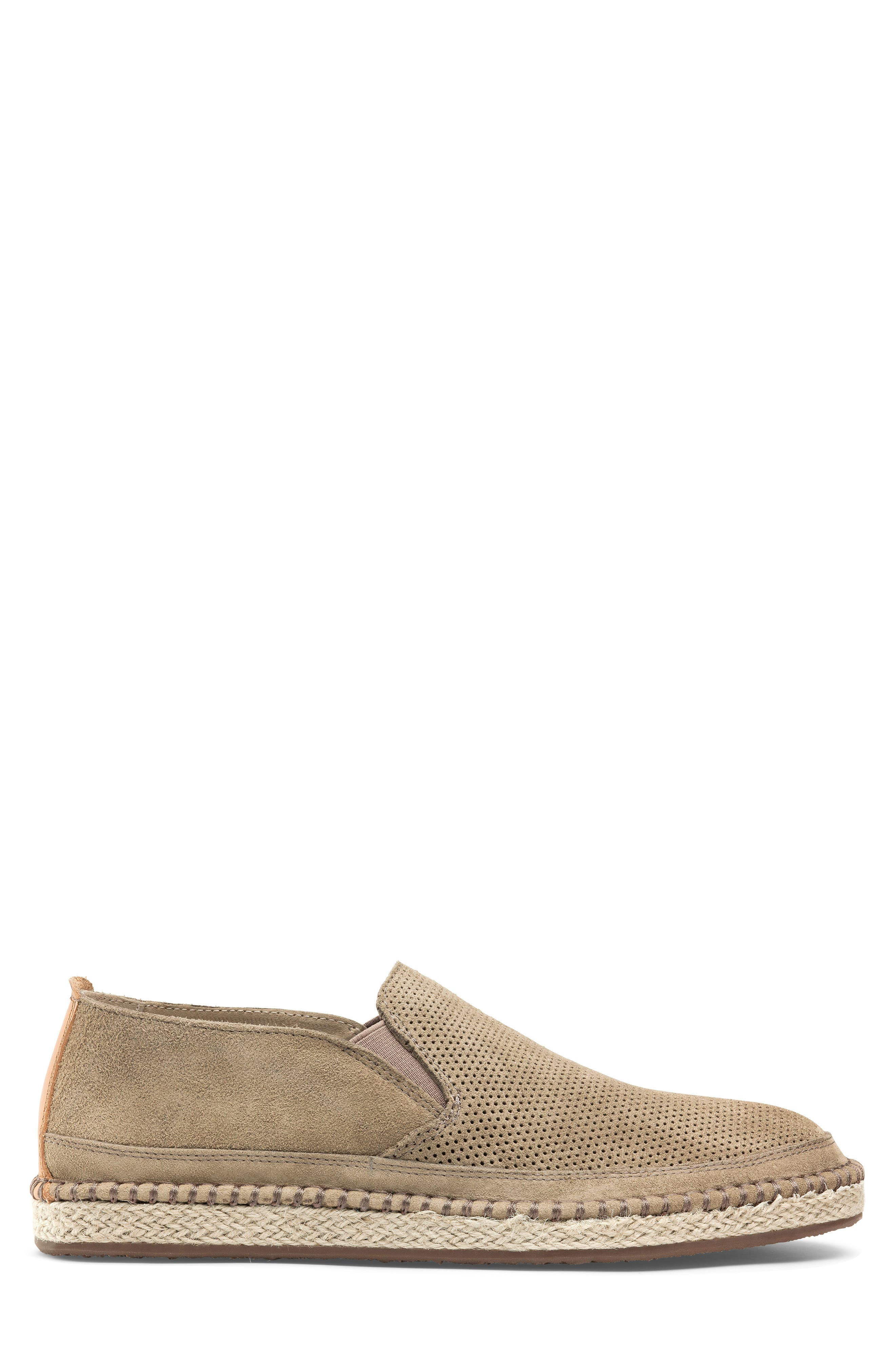 ,                             Braxton Loafer,                             Alternate thumbnail 3, color,                             TAUPE SUEDE
