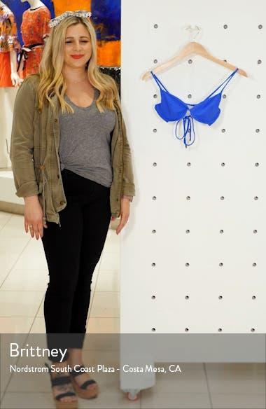 Azure Lovely Reversible Underwire Bikini Top, sales video thumbnail