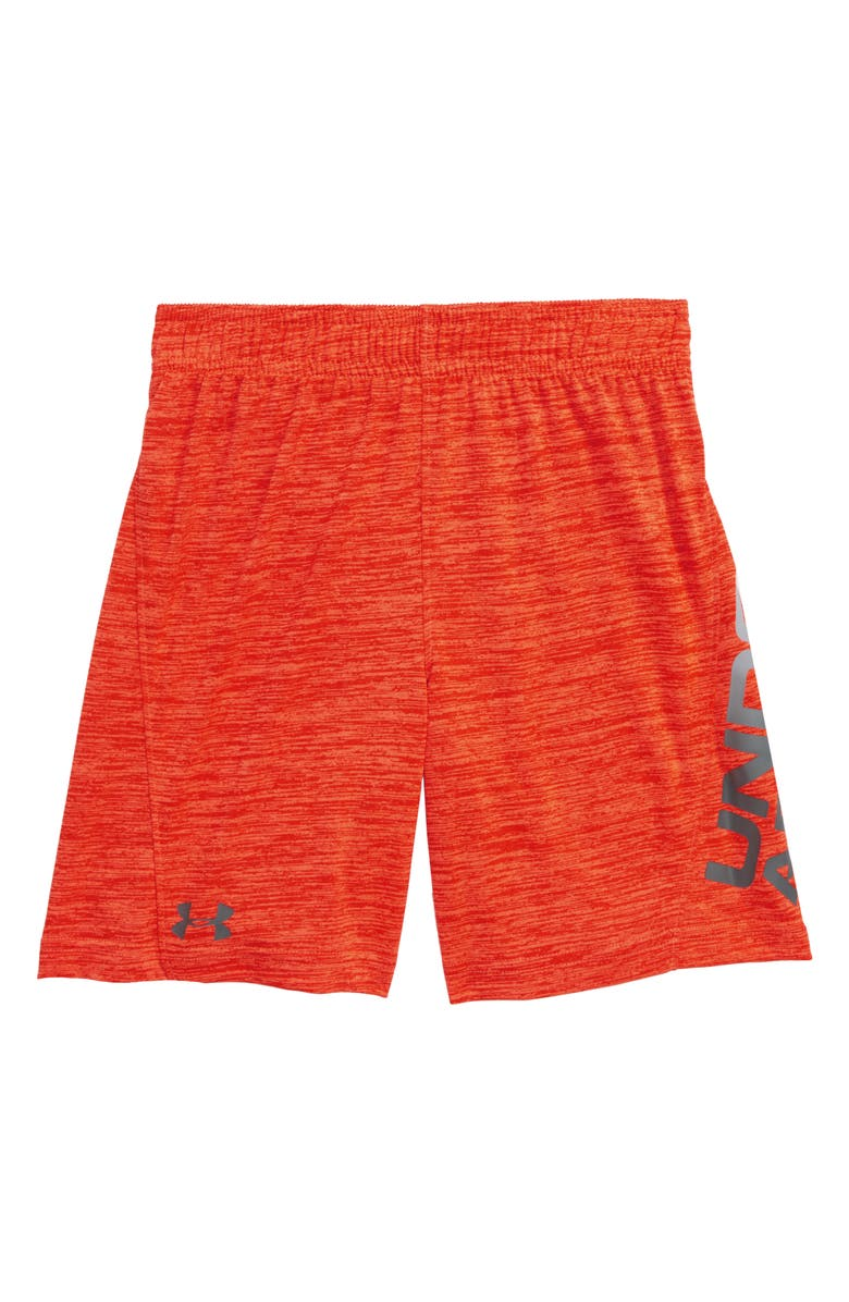 UNDER ARMOUR UA Twist Boost HeatGear<sup>®</sup> Athletic Shorts, Main, color, 820