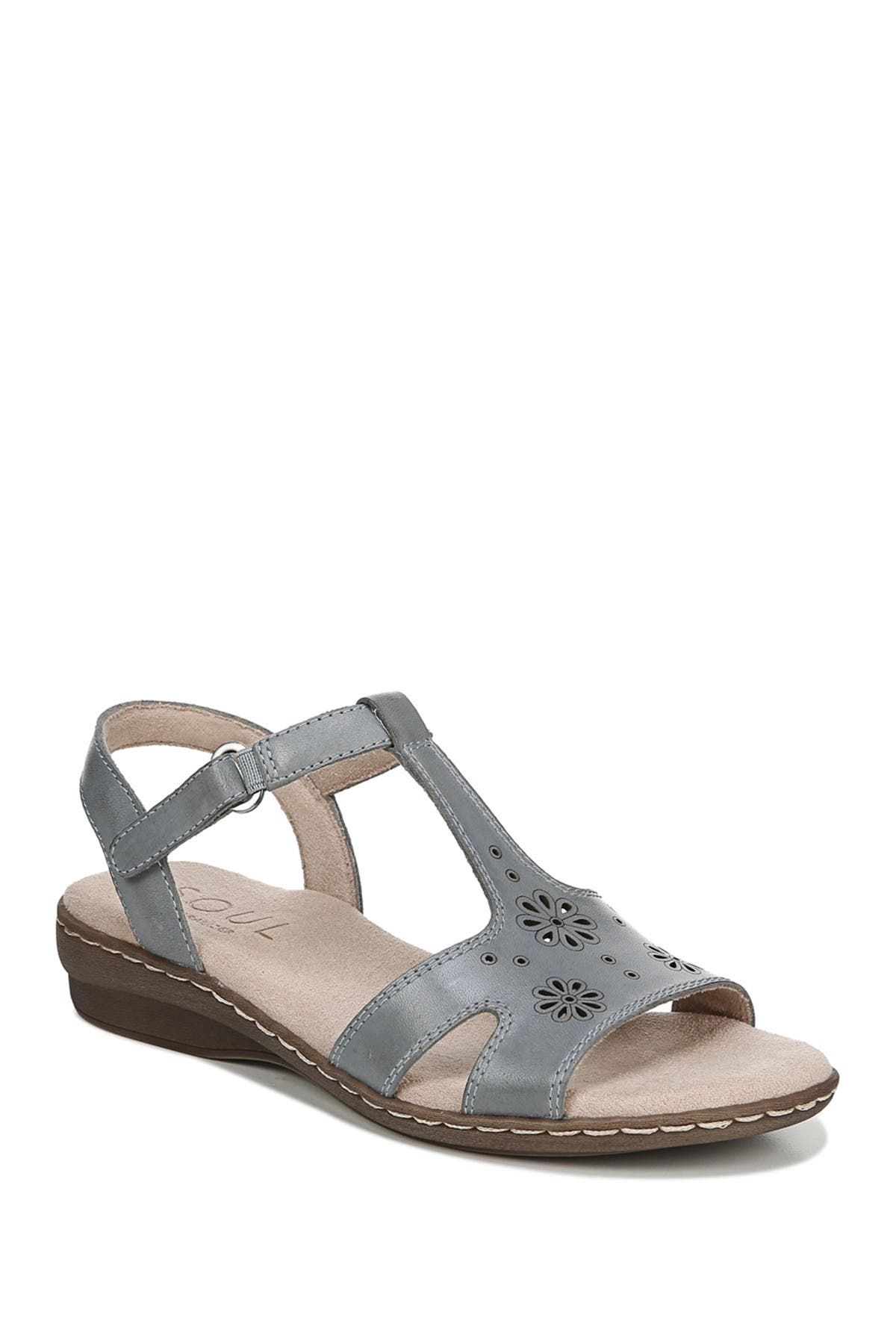 Image of SOUL Naturalizer Brio Leather Slingback Sandal - Wide Width Available
