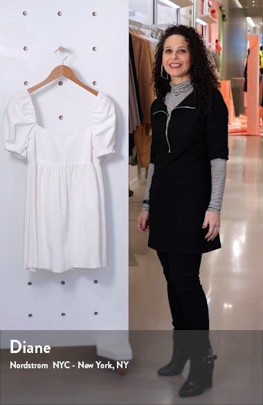 Bauery Puff Sleeve Babydoll Dress, sales video thumbnail