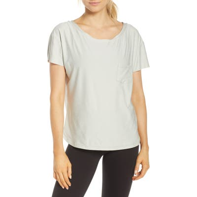 Vuori Lux Performance Tee, Grey