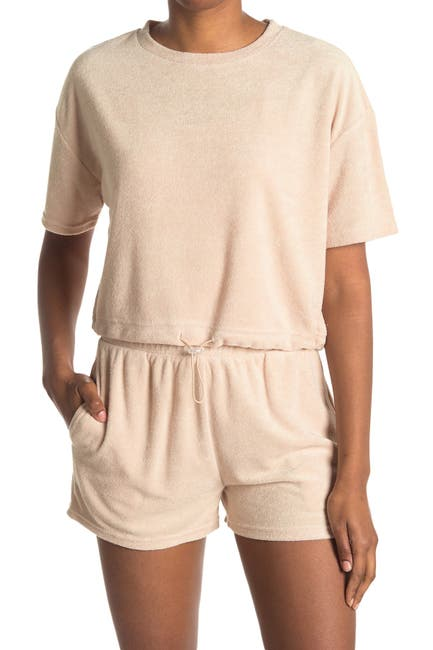 Image of Elodie Drawstring Towel T-Shirt