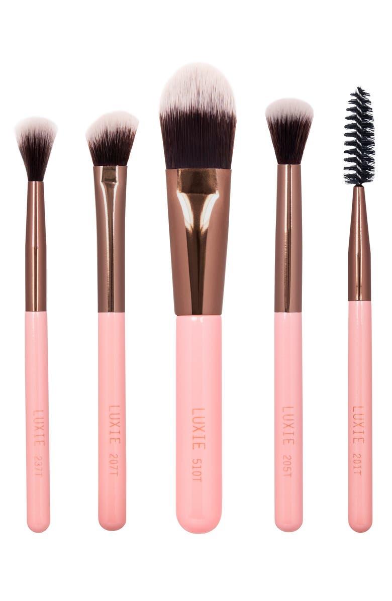 LUXIE Travel Essentials Brush Set, Main, color, 000