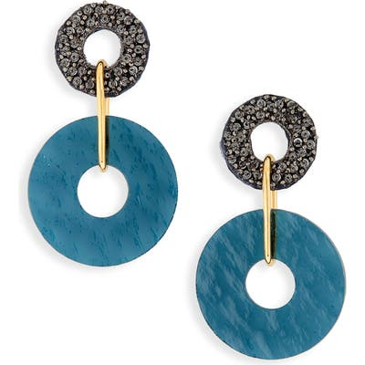 Lizzie Fortunato Indigo Drop Earrings