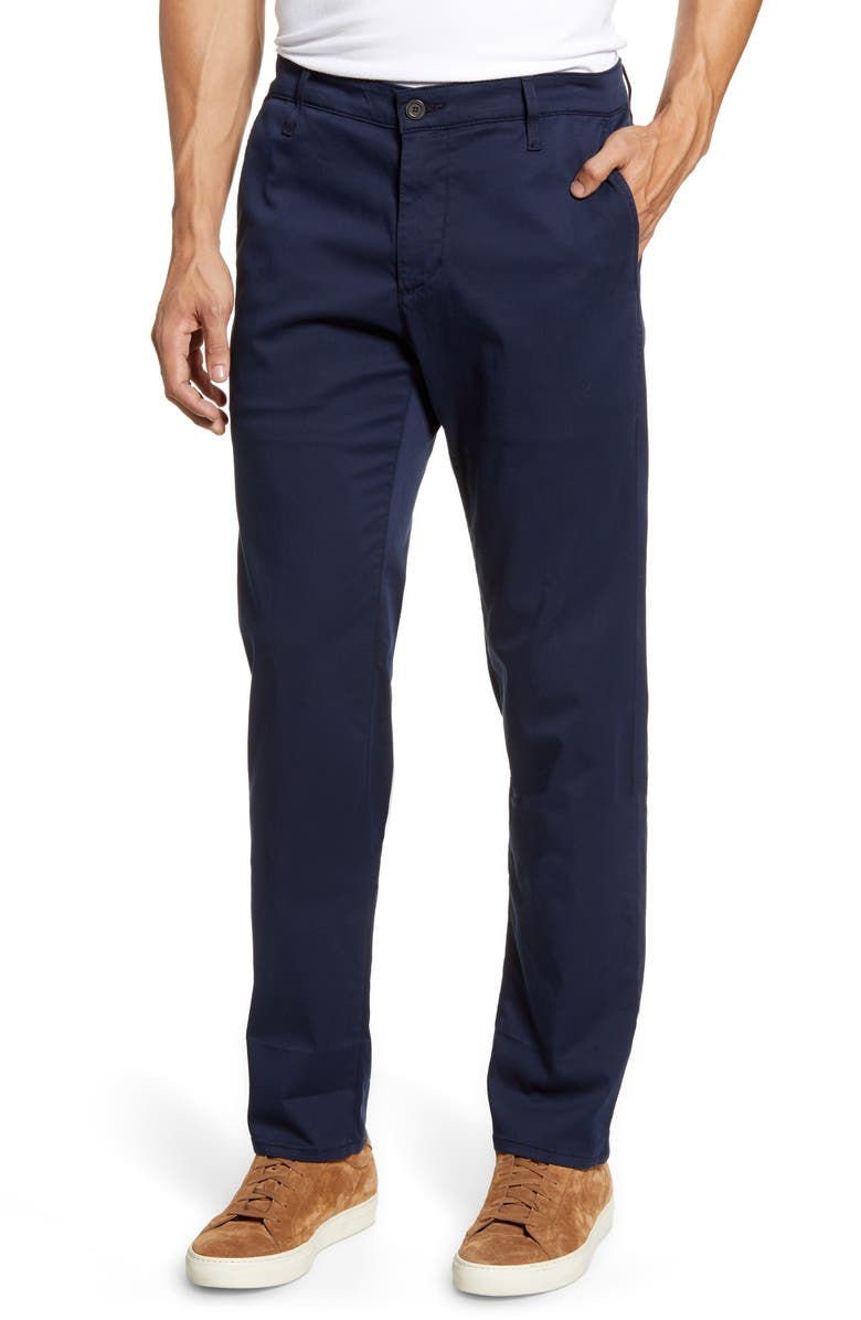AG Marshall Slim Fit Chinos, Main, color, MIDNIGHT BERLIN