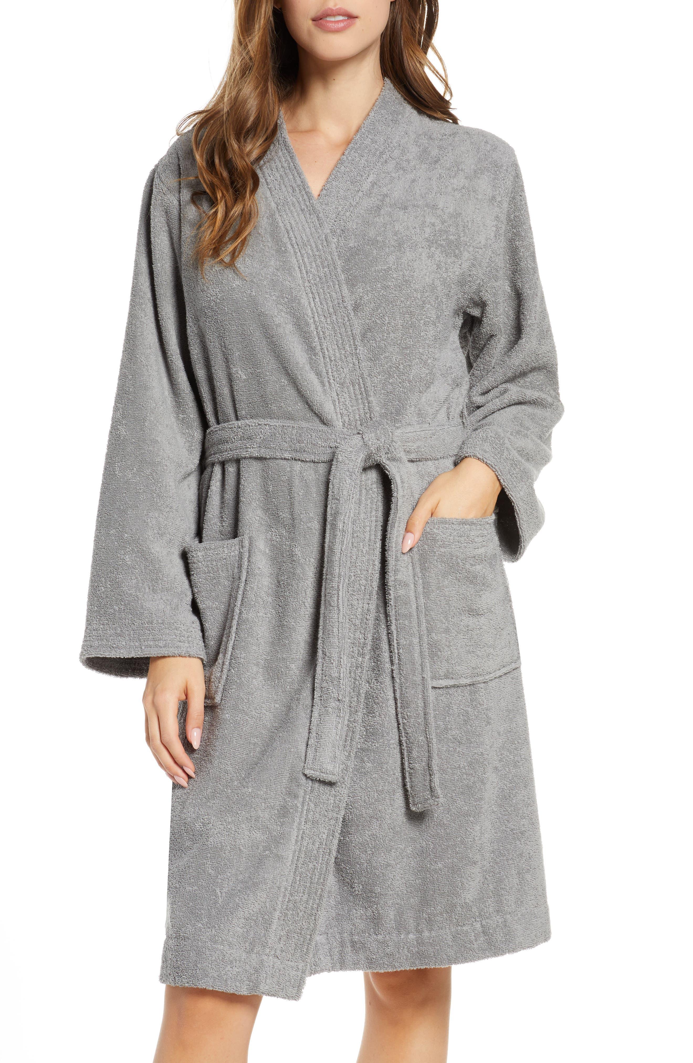 UGG® Lorie Terry Short Robe (Regular & Plus Size)