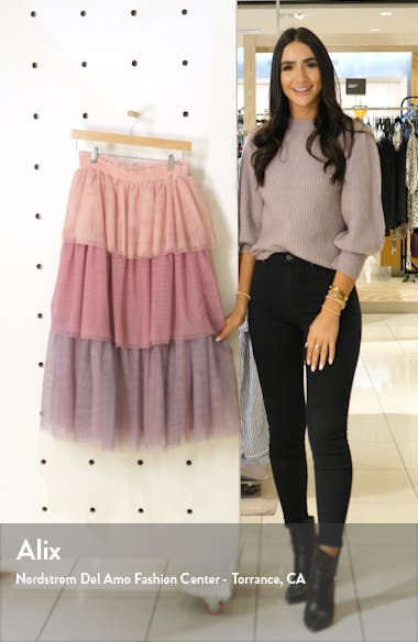 x Atlantic-Pacific Tiered Tulle Skirt, sales video thumbnail