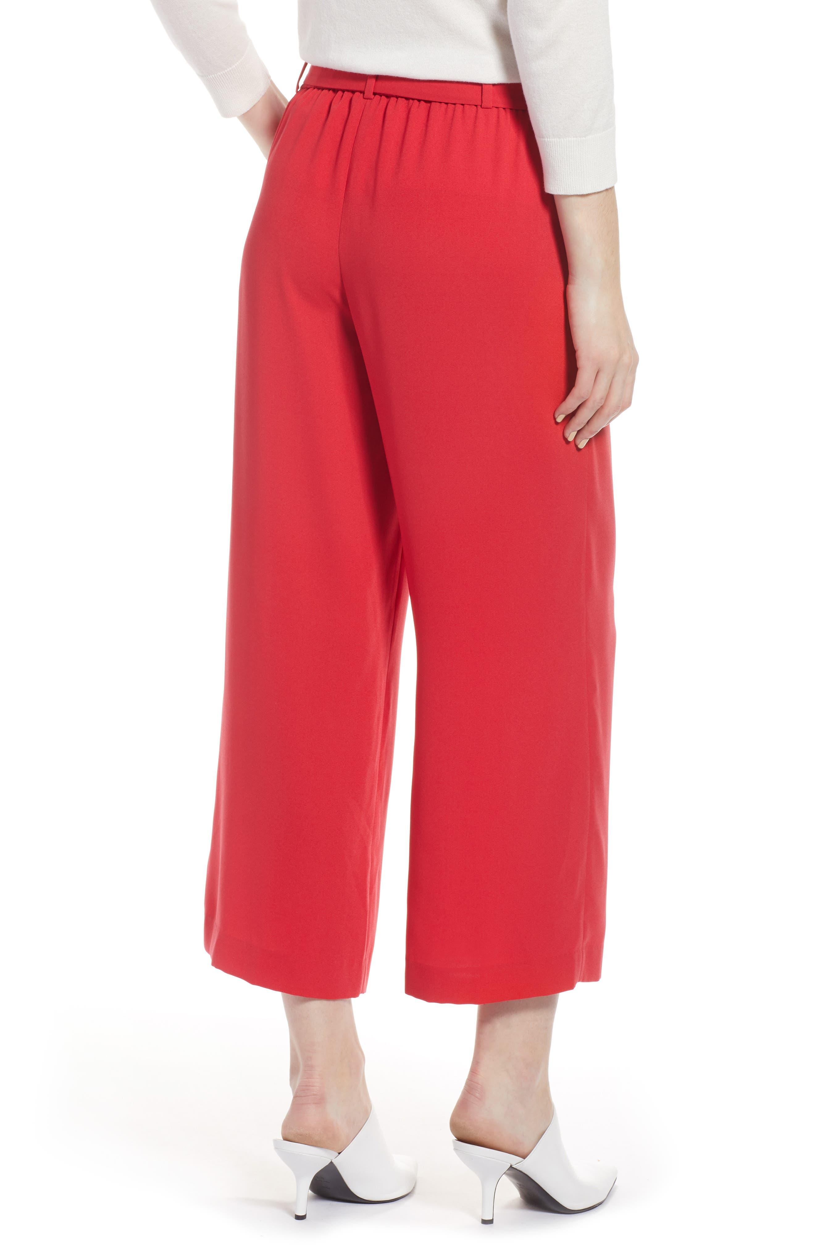 ,                             Wide Leg Crop Pants,                             Alternate thumbnail 78, color,                             610