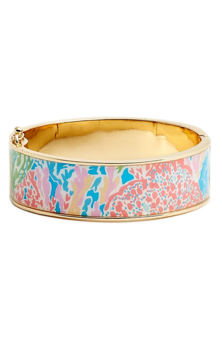 LILLY PULITZER<SUP>®</SUP> 'Boca' Print Bangle, Main, color, 440