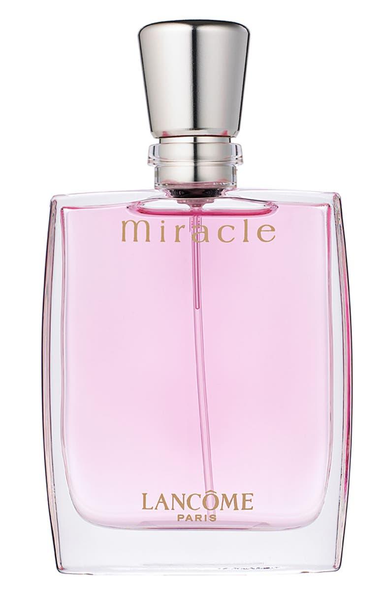 LANCÔME Miracle Eau de Parfum, Main, color, NO COLOR