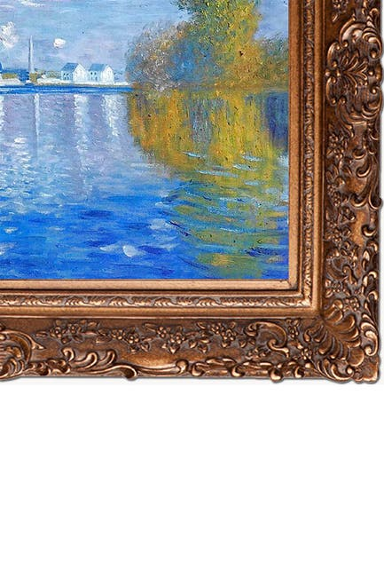 "Image of Overstock Art Autumn at Argenteuil with Burgeon Gold Frame, 33.5"" x 45.5"""