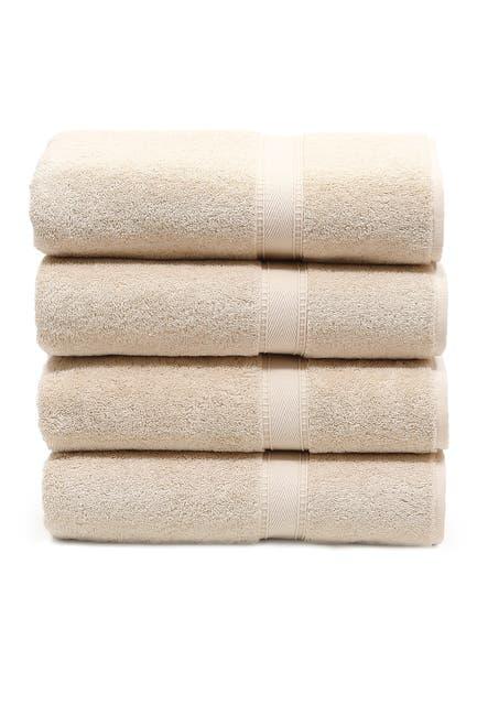 Image of LINUM HOME Sinemis Terry Bath Towels - Set of 4 - Beige