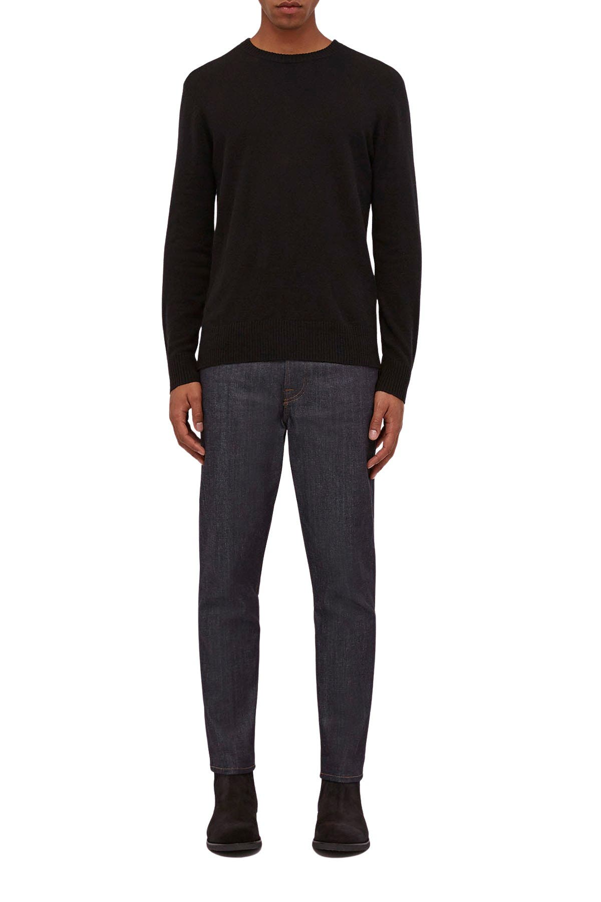 Image of BALDWIN Leader Wool & Cashmere Crew Neck Sweater