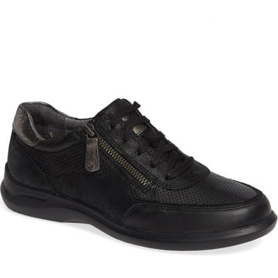 Aravon Power Comfort Tie Sneaker B - Black