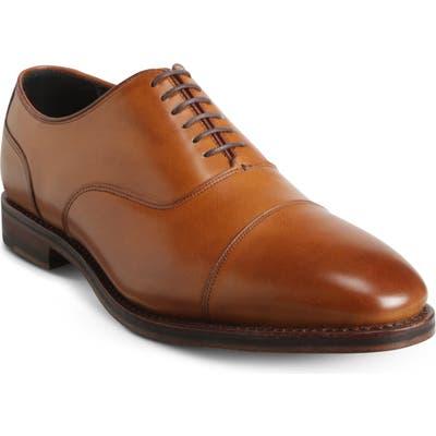 Allen Edmonds Bond Street Cap Toe Oxford - Brown
