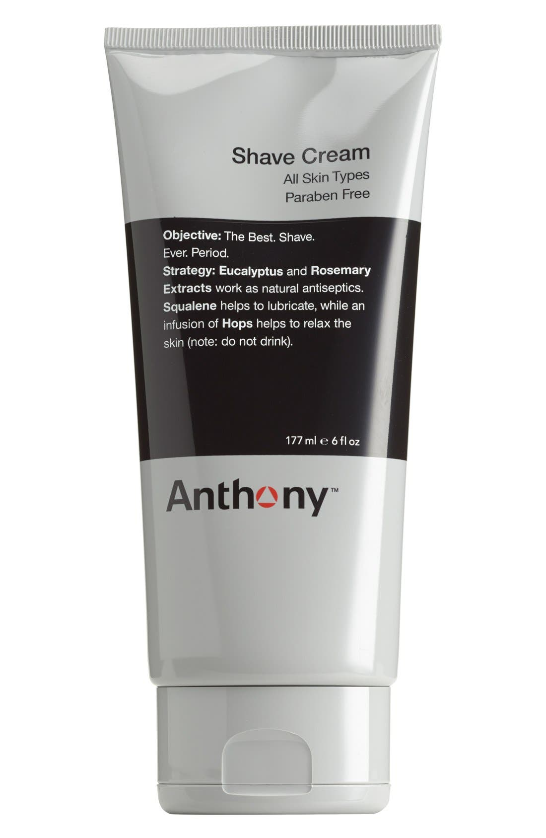 <sup>™</sup> Shave Cream, Main, color, NO COLOR