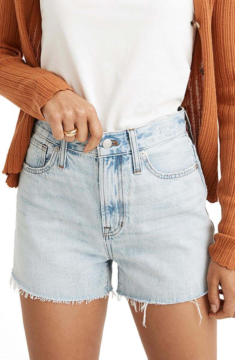 MADEWELL The Perfect Jean Shorts, Main, color, MILLMAN WASH