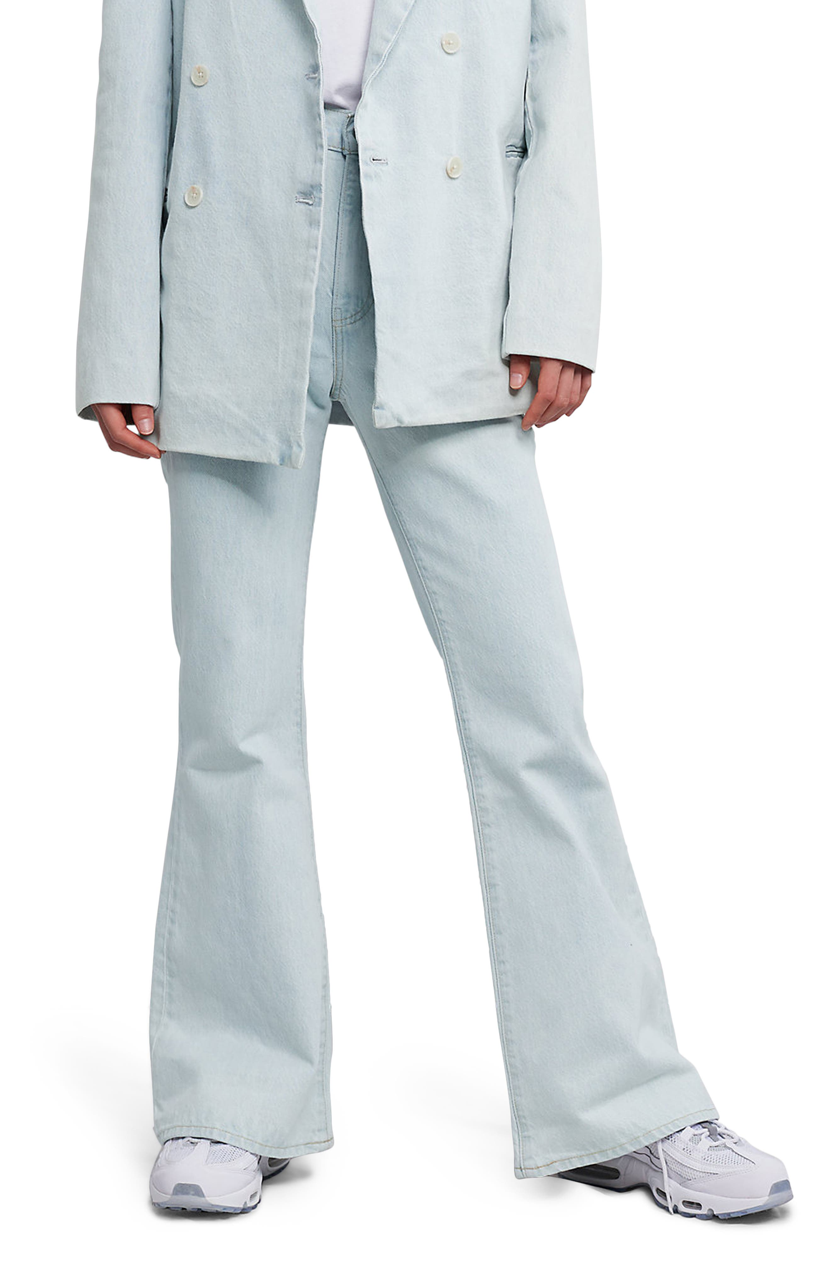 Image of Levi's Made & Crafted™ High Waist Organic Cotton Flare Jeans