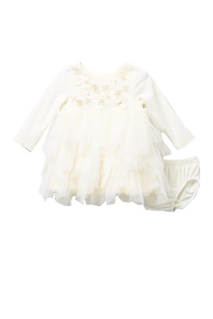 Image of BISCOTTI Ruffled Dress Set