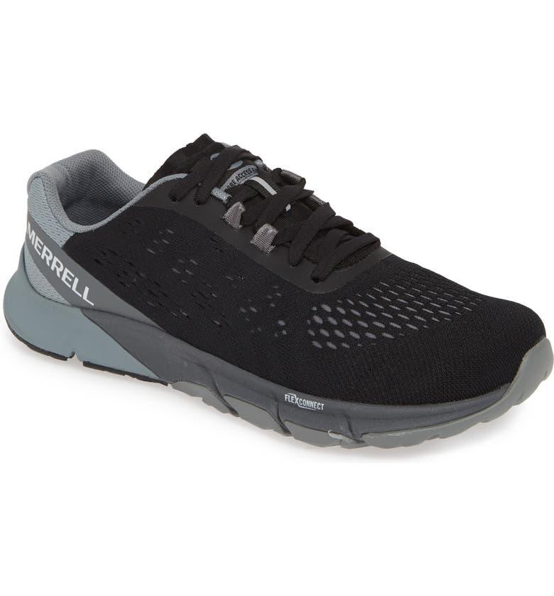 MERRELL Bare Access Flex 2 E-Mesh Training Shoe, Main, color, BLACK