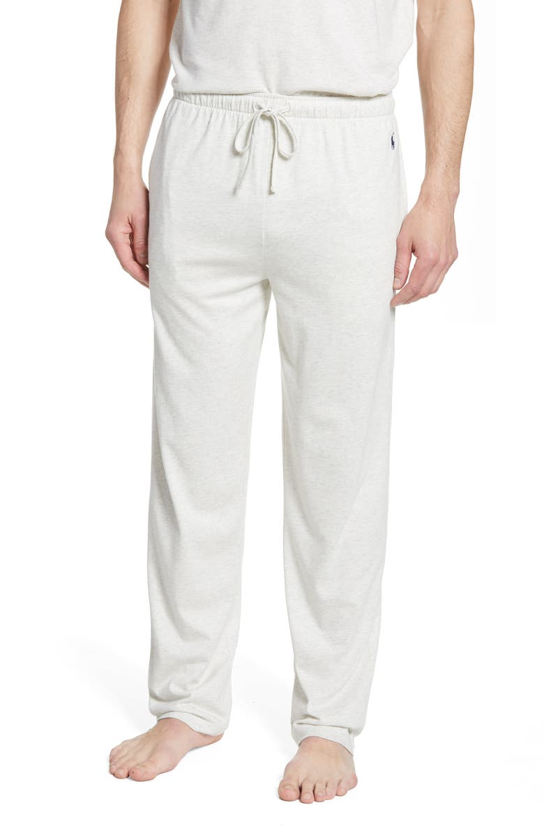 POLO RALPH LAUREN Supreme Comfort Pajama Pants, Main, color, NEW SAND HEATHER