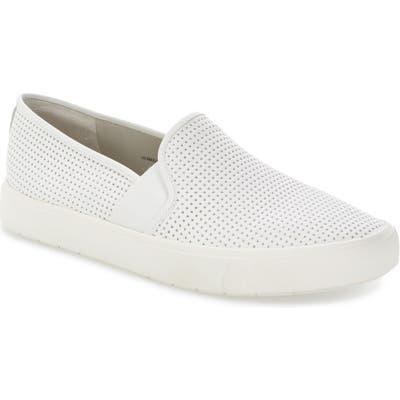 Vince Blair 5 Slip-On Sneaker, White