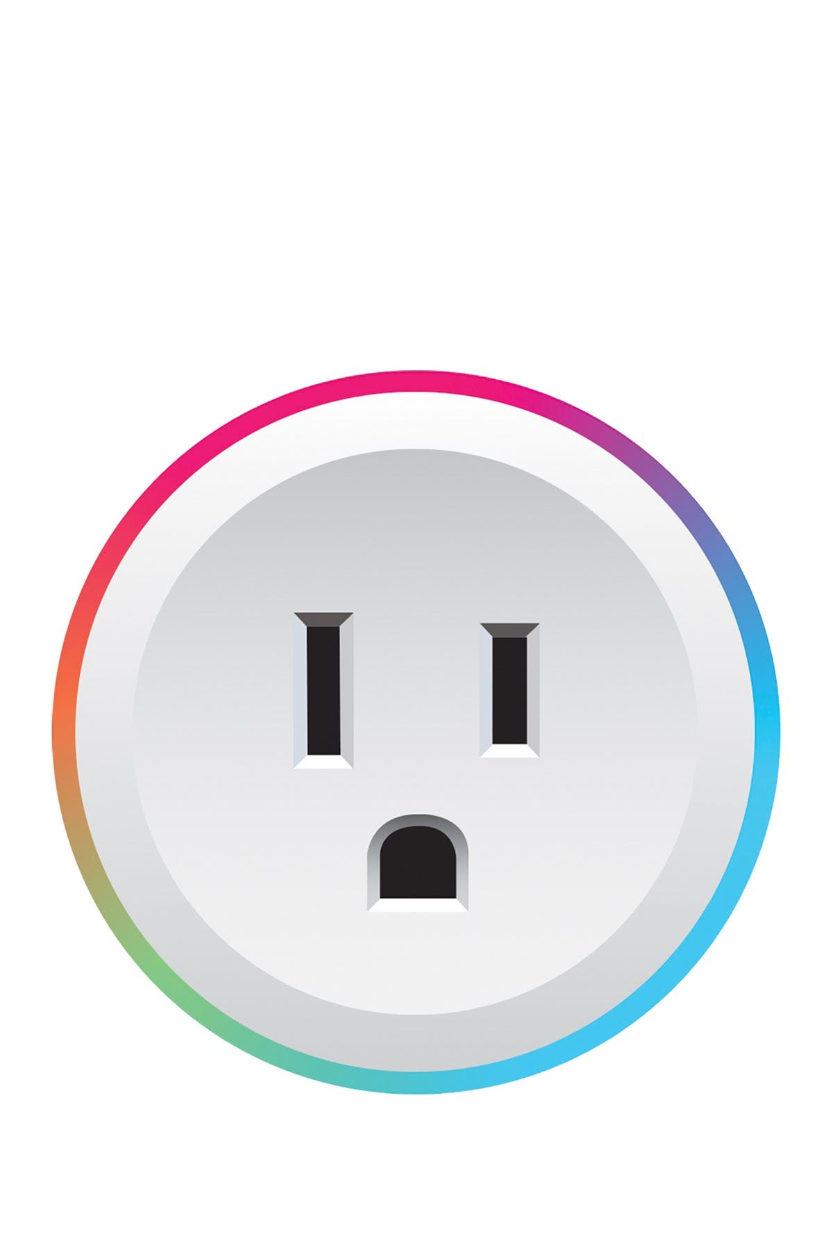 BROOKSTONE Smart Color Changing Plug