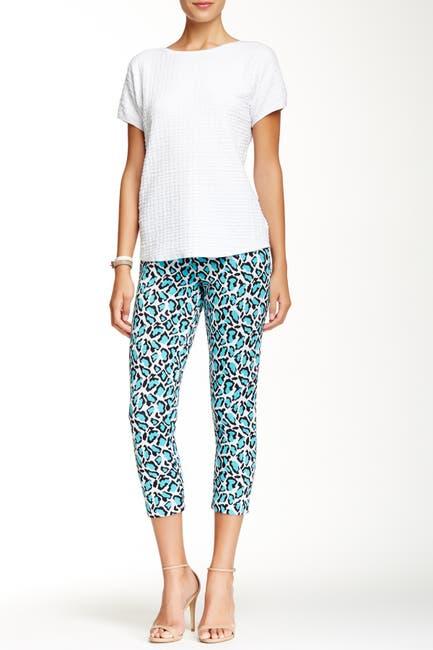 Image of Joan Vass Leopard Pant