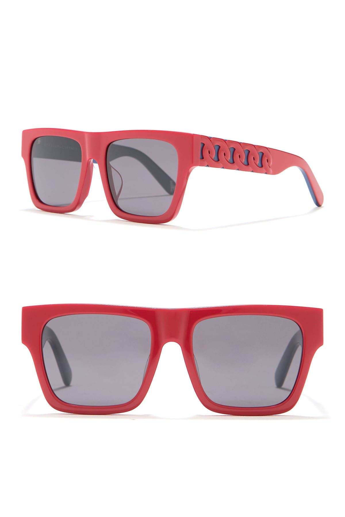 Image of Stella McCartney 47mm Irregular Sunglasses