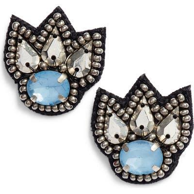 Mad Jewels Christine Stud Earrings