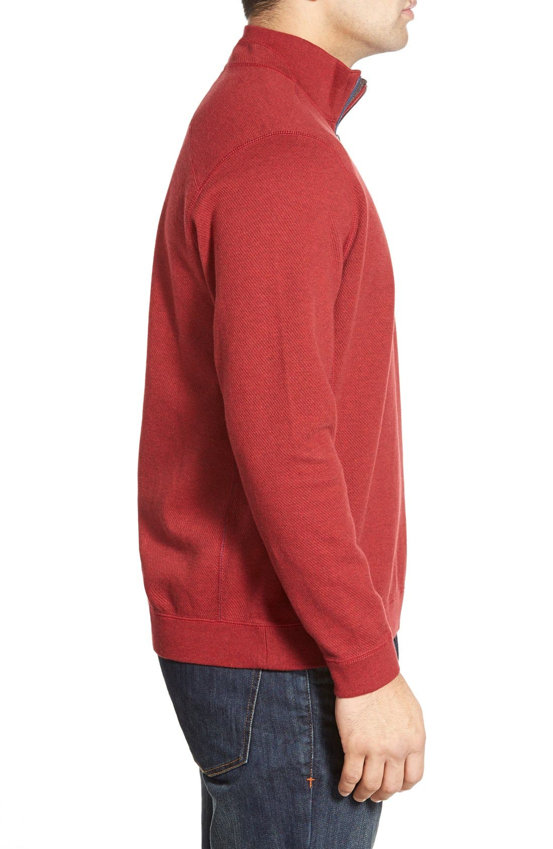 ,                             'Flip Side' Reversible Quarter Zip Pullover,                             Alternate thumbnail 100, color,                             603