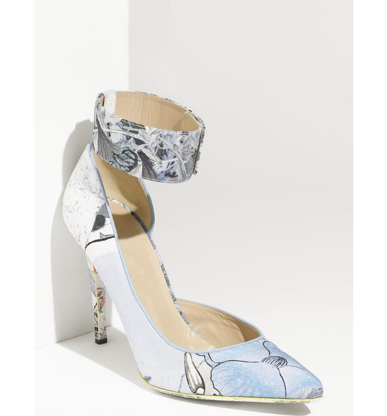 NICHOLAS KIRKWOOD for Erdem Floral Print Pump, Main, color, 400