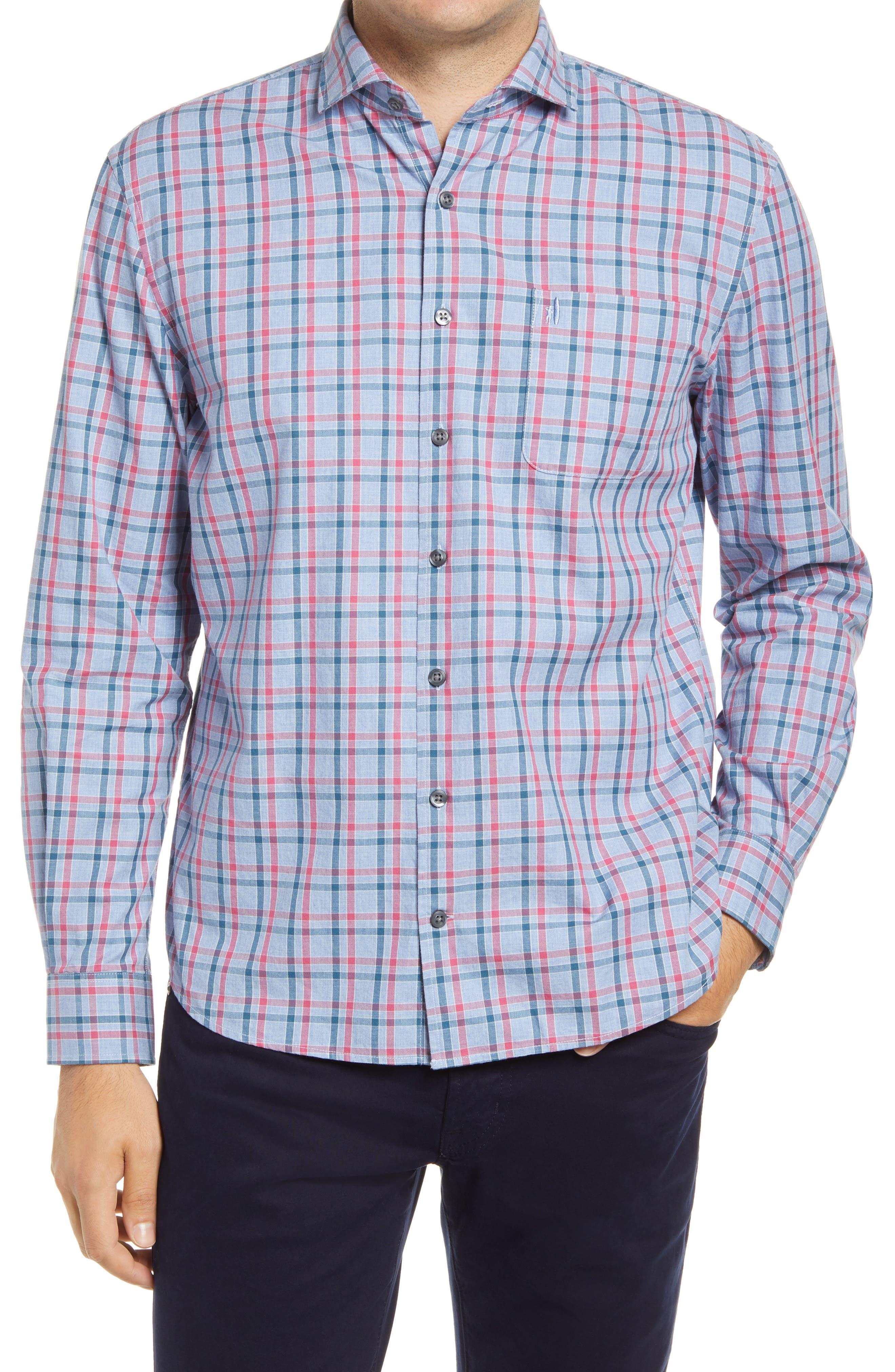 Hangin' Out Keller Plaid Flannel Button-Up Shirt