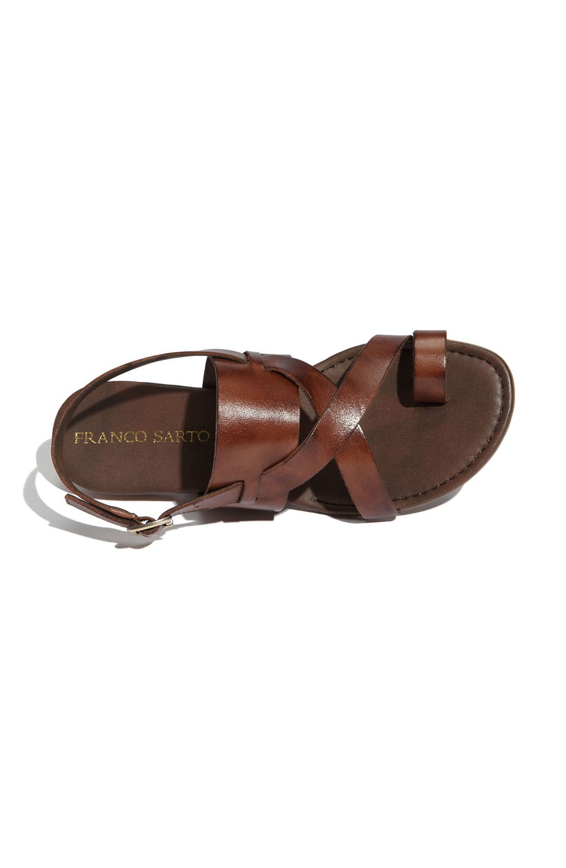,                             Gia Sandal,                             Alternate thumbnail 6, color,                             CHOCOLATE ANTANADO