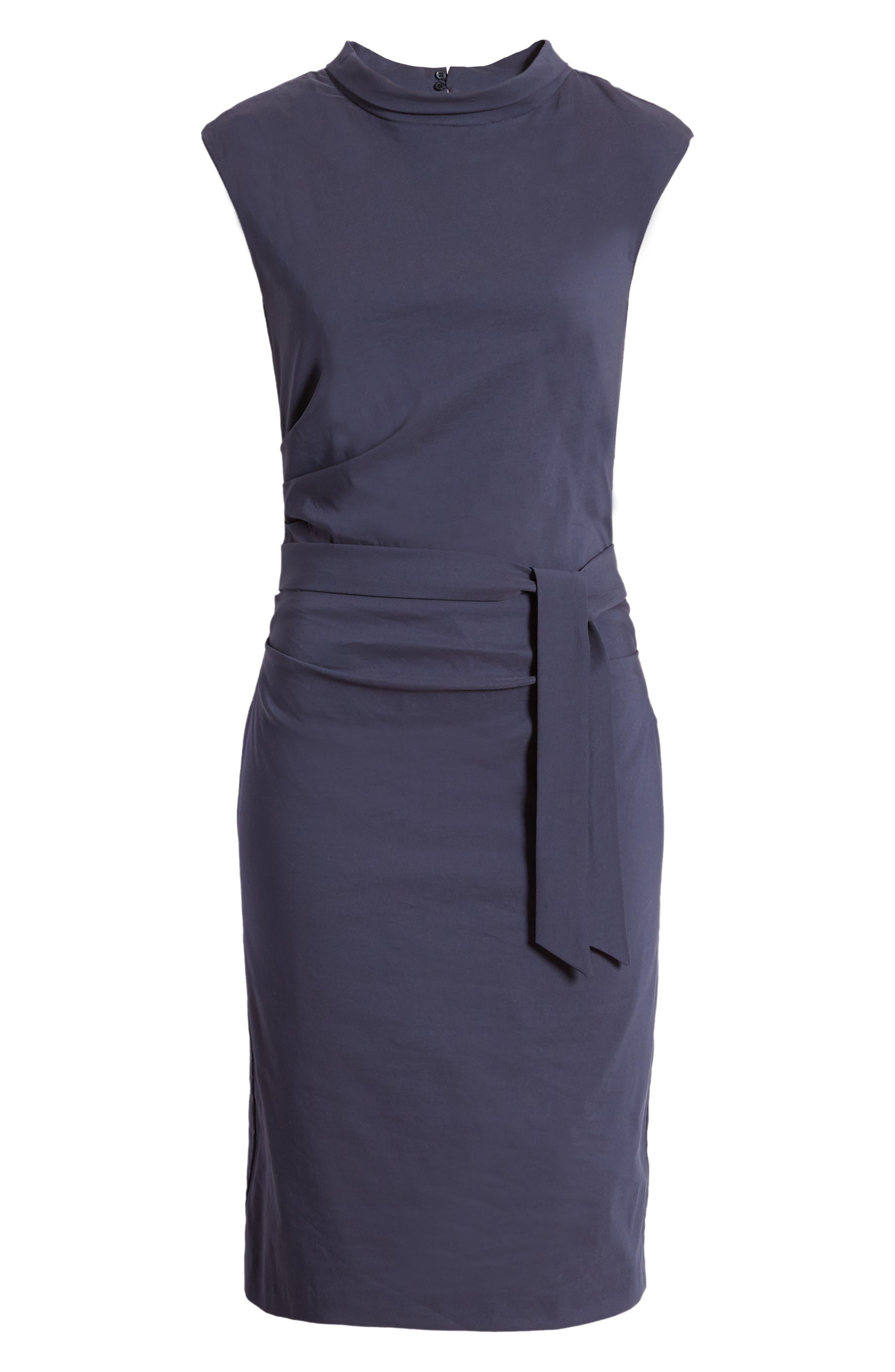 Shaped Poplin Dress