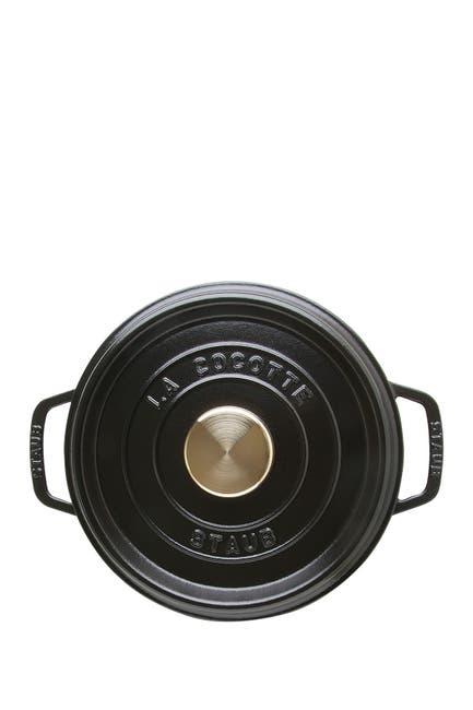 Image of Staub Round Black Matte 4qt. Cocotte