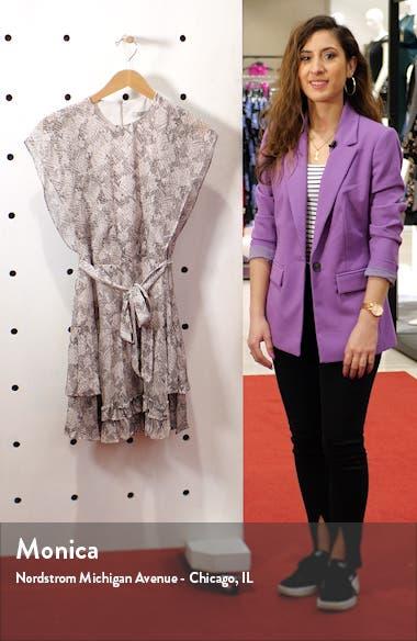 Evely Midgard Snakeskin Print Dress, sales video thumbnail