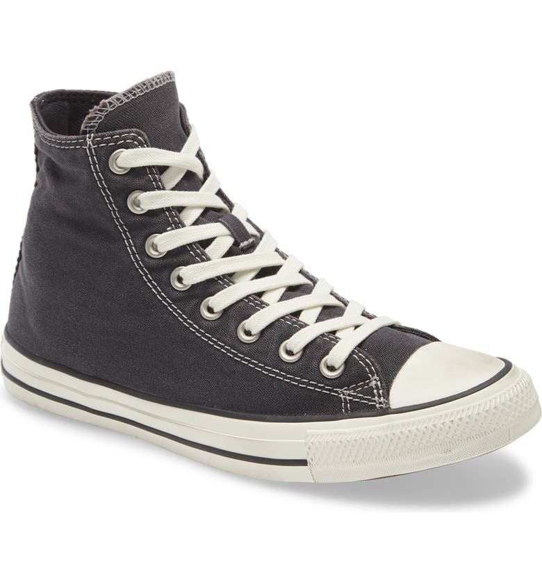 CONVERSE Chuck Taylor<sup>®</sup> All Star<sup>®</sup> High Top Sneaker, Main, color, BLACK/ EGRET/ BLACK